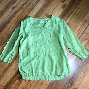 Hot Cotton Tunic Top Size Medium